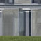 sliding shutter / metal / for facades / custom