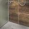 square shower base / fiberglass / concrete / extruded polystyrene