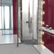 corner shower base / fiberglass / concrete / polystyrene
