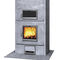 wood heating stove / contemporary / soapstone / with oven