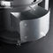 wood heating stove / contemporary / metal / round