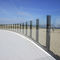 stainless steel railing / glass panel / outdoor / for balconies