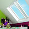 projection roof window / wooden / PVC / double-glazed