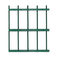 industrial fence / with bars / zinc / security