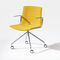 Contemporary office chair / with armrests / on casters / fabric CATIFA UP Arper