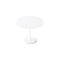 contemporary high bar table / MDF / lacquered steel / chrome steel