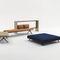 contemporary ottoman / fabric / modular / square