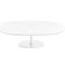 contemporary coffee table / MDF / lacquered steel / chrome steel