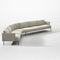 Modular sofa / contemporary / leather / fabric STEEVE Arper