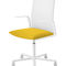 Contemporary office chair / with armrests / on casters / central base KINESIT Arper