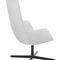 Contemporary armchair / fabric / leather / aluminum CATIFA SENSIT  Arper