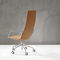 contemporary office chair / high-back / adjustable / swivel