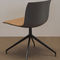 Contemporary chair / upholstered / on casters / star base CATIFA 53 NEW EDITION Arper