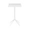 contemporary high bar table / wooden / HPL / aluminum