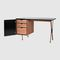 wooden desk / laminate / contemporary / with storage