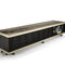 contemporary sideboard / wooden / glass / marble