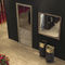 wall-mounted mirror / floor-standing / contemporary / rectangular