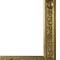 wall-mounted mirror / classic / rectangular / metal