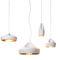 pendant lamp / contemporary / ceramic / LED