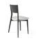 Contemporary chair / upholstered / fabric / solid wood BERTHA by Carlo Marelli & Massimo Molteni MisuraEmme