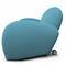 Contemporary sofa / fabric / steel / on casters GEO by Bartoli Design Rossi di Albizzate