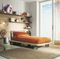 contemporary bed / child's unisex / on casters / wooden