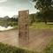 entry door / swing / oak