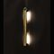 contemporary wall light / brass / LED / incandescent