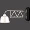 traditional wall light / brass / LED / by Josef Hoffmann
