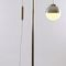 floor-standing lamp / traditional / brass / silver