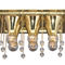 classic ceiling light / brass / LED / incandescent