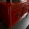 traditional sideboard / lacquered wood / solid wood / red