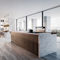 contemporary kitchen / wood veneer / oak / lacquered wood