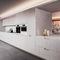 contemporary kitchen / wood veneer / oak / lacquered
