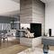 Contemporary kitchen / solid wood / oak / walnut FIAMMA  GD Arredamenti
