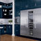 traditional kitchen / lacquered wood / island / with handles