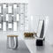wall-mounted wardrobe / contemporary / wooden / commercial