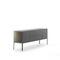 contemporary sideboard / glass / aluminum / sheet metal