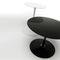 contemporary side table / aluminum / Cristalplant® / composite