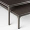 contemporary coffee table / oak / Cornish oak / aluminum
