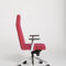 contemporary conference chair / upholstered / with armrests / on casters