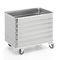 linen trolley / commercial / aluminum