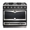 gas range cooker / electric / stainless steel