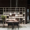 Contemporary TV wall unit / wooden / lacquered wood / by Piero Lissoni POLIFUNCTIONAL Porro