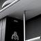 wall-mounted shelf / modular / contemporary / steel