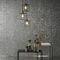 Contemporary wallpaper / natural fiber / geometric / metal look ELIXIR Omexco