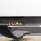 Gas fireplace / contemporary / closed hearth / built-in VALENTINO Planika