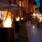 Garden fireplace / bioethanol / contemporary / open hearth TOTEM COMMERCE Planika
