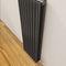 steel radiator / stainless steel / original design / contemporary