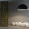 Pendant lamp / contemporary / steel / in Nebulite® MATT : MEZZA LUNA LAVAGNA in-es artdesign